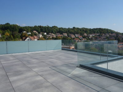 Opal Laminated Glass