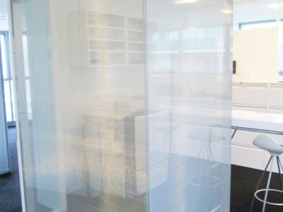 glass partition decorative laminated glass