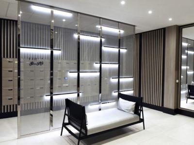 glass partition decorative interlayer laminated glass