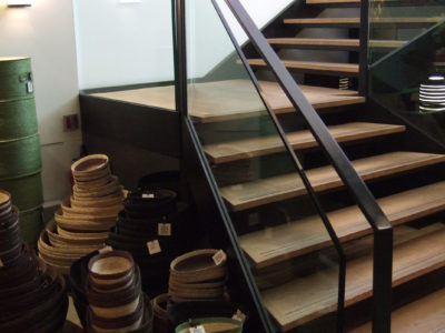 Staircase Glass Railling