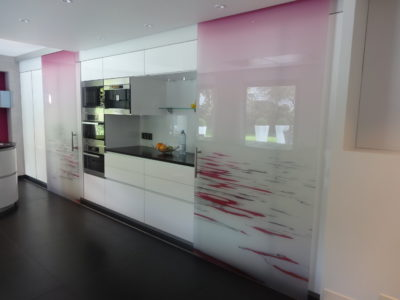 bespoke glass door