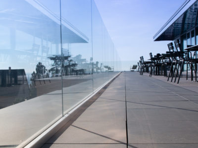 glass balustrade toughened laminated glass