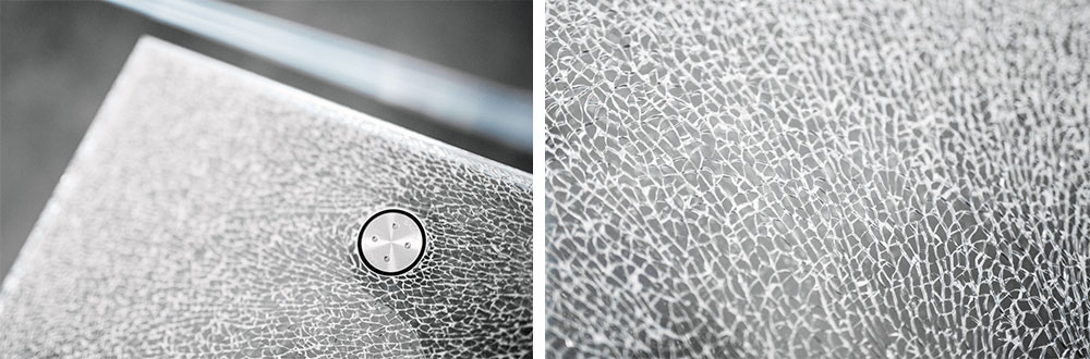 decorative laminated glass