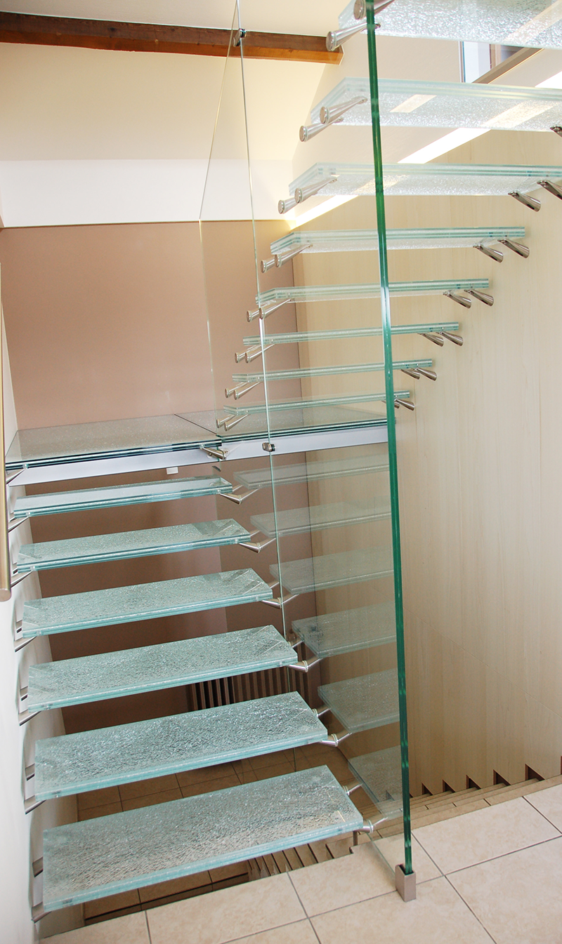 Glass For Staircase Glass Staircase Design