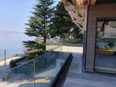 glass railing toughened laminated glass