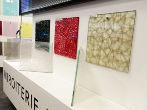 bespoke decorative glass interior decoration