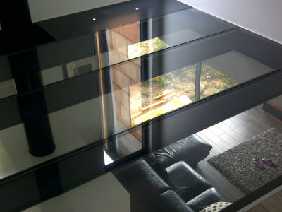 interior glass floor