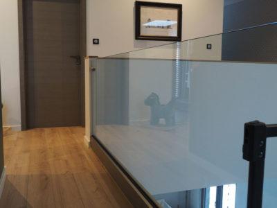 interior glass balustrade