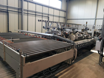 bilateral shaping machine