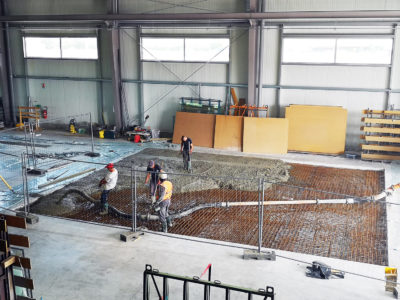concrete slab extention righetti