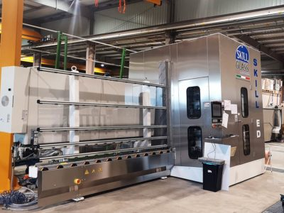 vertical machining centre vertical special shaped glazing