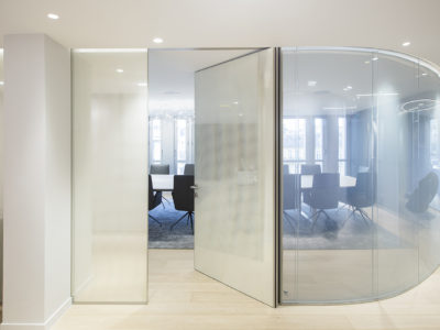 bespoke glass for glass partition