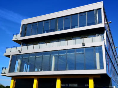 glass frontage