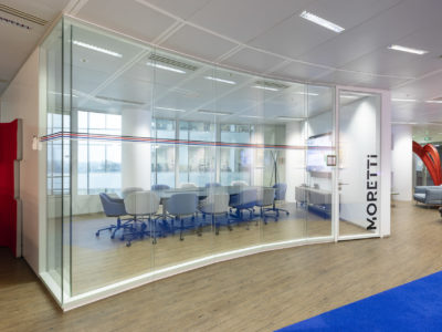 glass partition office