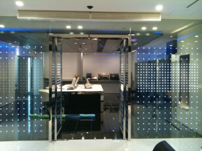 decorative laminated glass interlayer leds