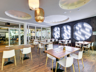 decorative laminated glass led lighting