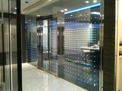 design glass partition