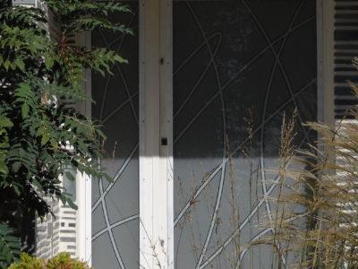 exterior glass door