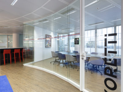 glass door for office