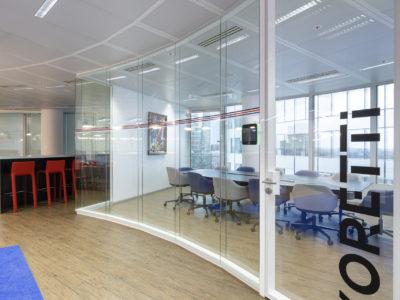 glass door for office