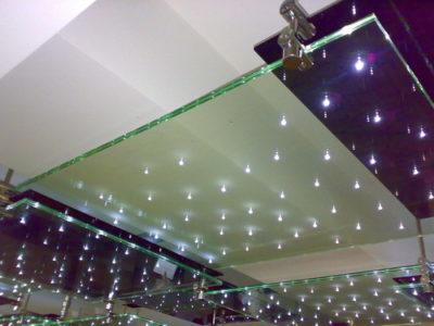 glass led