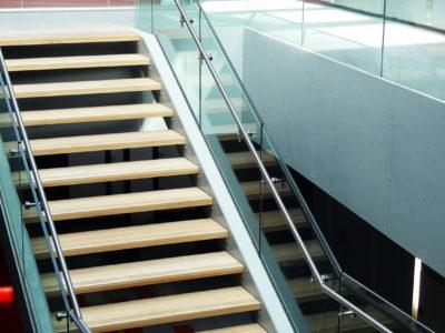 glass railing profile