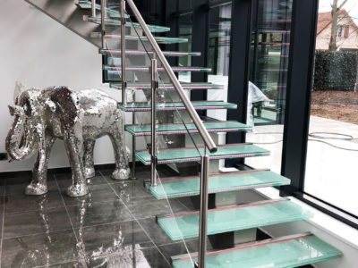 laminated glass for glass stairs
