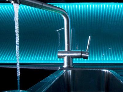 laminated inova glass kitchen splashback