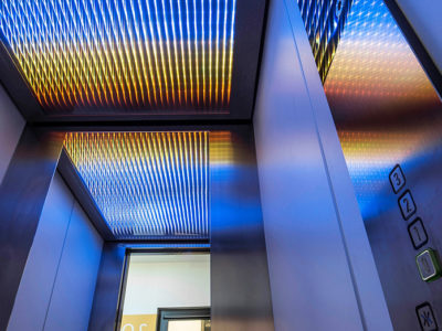 light ceiling laminated inova glass led glass