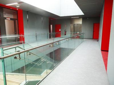 sabco glass railing