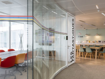 tailored glass partition