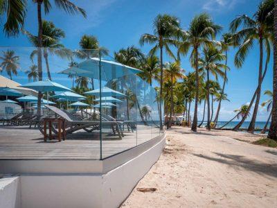 Translevel® glass railing