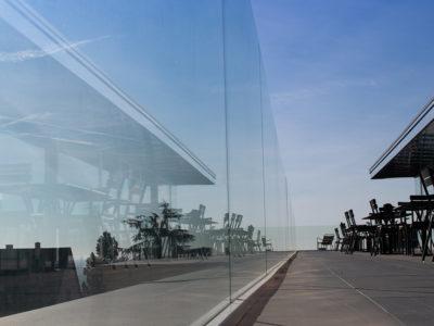 Glass railing sabco® evo